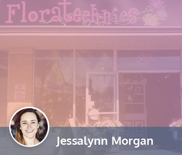 Floratechnics owner Jessalynn Morgan