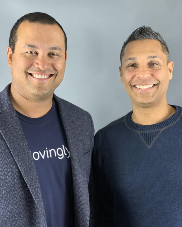 Founders and Co-CEO's of Lovingly, Ken Garland and Joe Vega.
