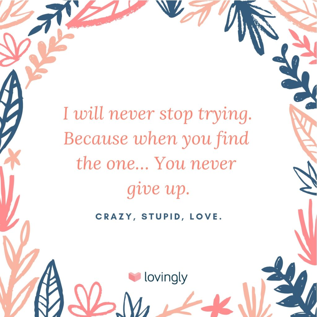 Crazy, Stupid, Love quote