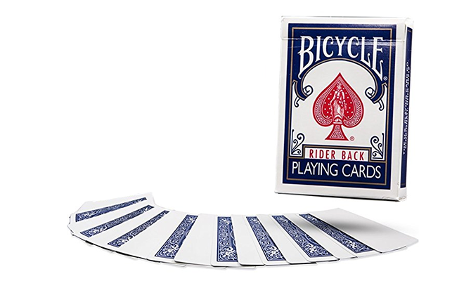 Blank deck of cards
