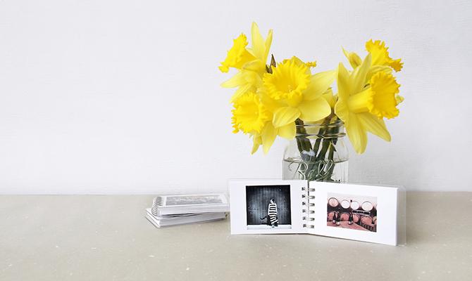 Minibook photo album